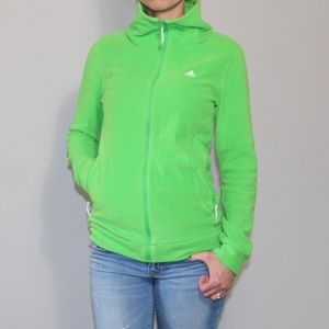 Green Adidas Fleece